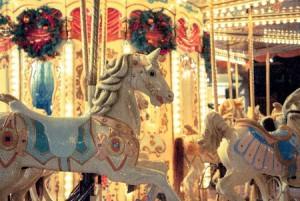 白馬の木馬