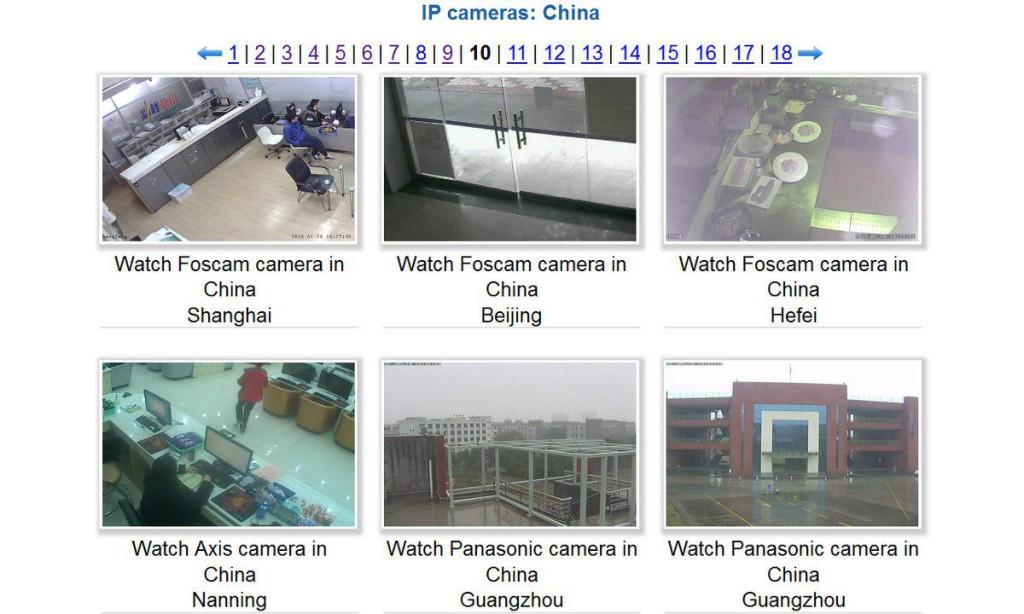 世界各国の監視カメラ画像