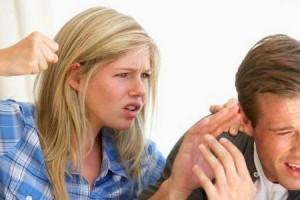 妻からの暴力